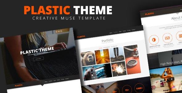 Plastic   Creative Muse Template