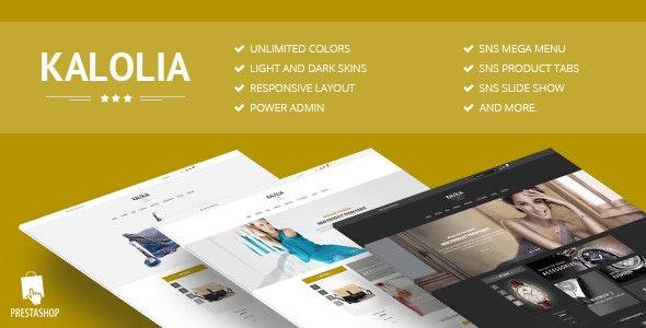 SNS Kalolia - Responsive Prestashop Theme - PrestaShop eCommerce