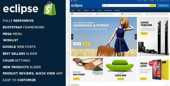 Eclipse Digital Store Shopify Theme & Template - Shopping Shopify
