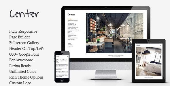 Portfolio Center - Responsive Portfolio Theme - Portfolio Creative