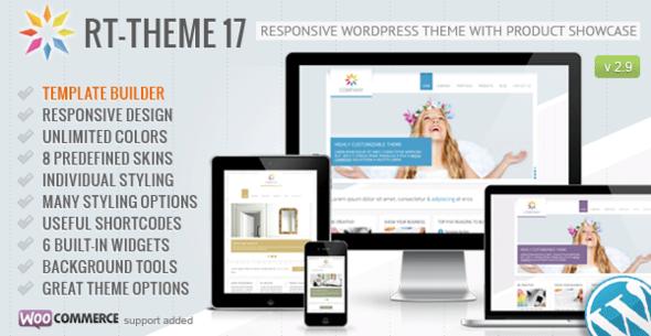 RT-Theme 17 Responsive Wordpress Theme - Business Corporate