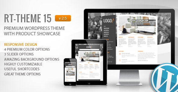 RT-Theme 15 Premium Wordpress Theme - Business Corporate