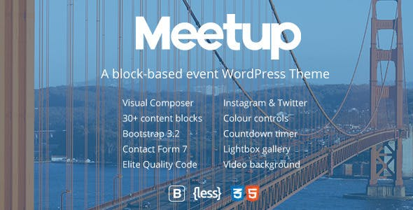 Meetup | Conference & Event WordPress Theme