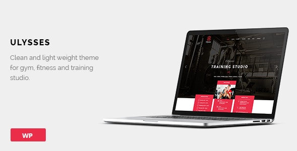 Ulysses | Gym Fitness WordPress Theme - Health & Beauty Retail