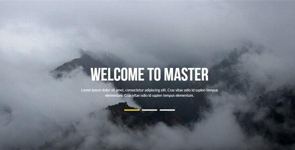 Master - Multipurpose Muse Template - Corporate Muse Templates