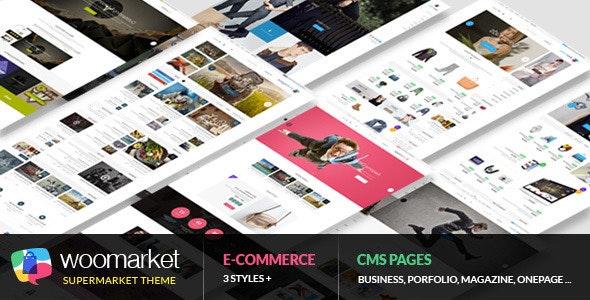WooMarket - Supermarket WordPress WooCommerce Theme - WooCommerce eCommerce