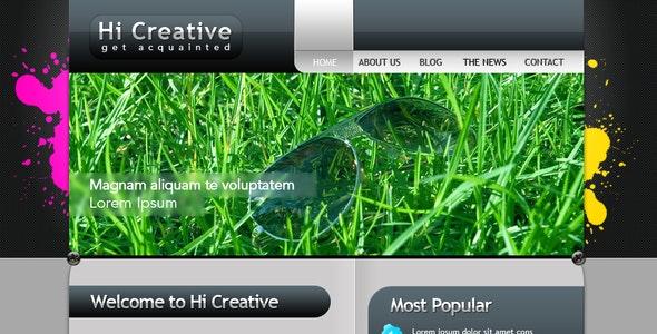 Hi Creative Portfolio Site - Portfolio Creative