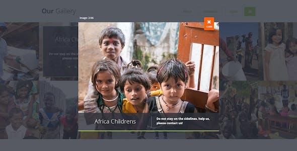 Generosity - Charity/Nonprofit PSD Template