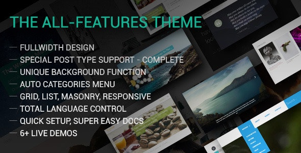 Fine - The Fullwidth All-Features Tumblr Theme - Tumblr Blogging