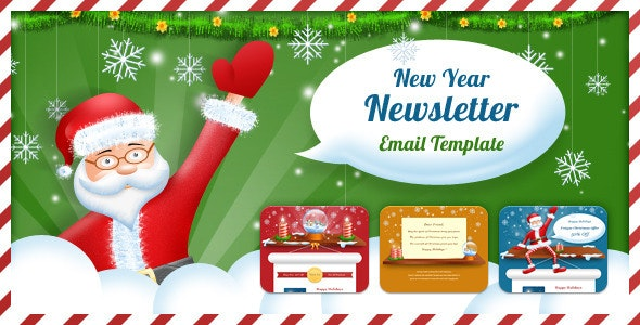 Exclusive New Year Newsletter - Email Templates Marketing
