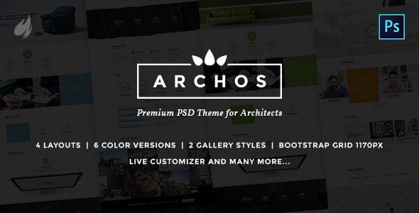 Archos - PSD Template for Architects - Creative Photoshop