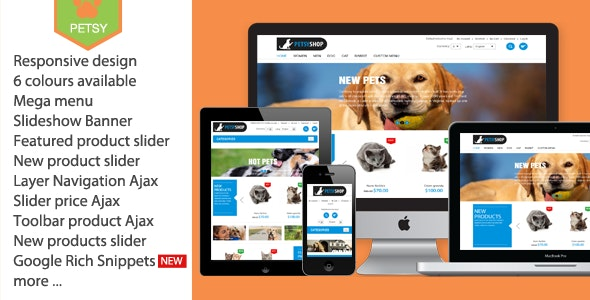 Petsy Shop Responsive Magento 1 & 2 Theme by Plaza-Themes | ThemeForest