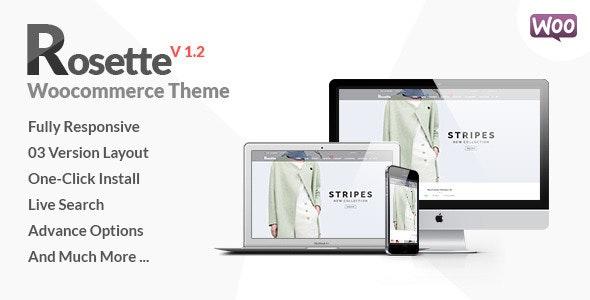 Rosette - Fashion Store Woocommerce Theme - WooCommerce eCommerce