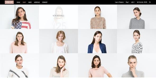 Velvet - A Shopify Fashion Theme