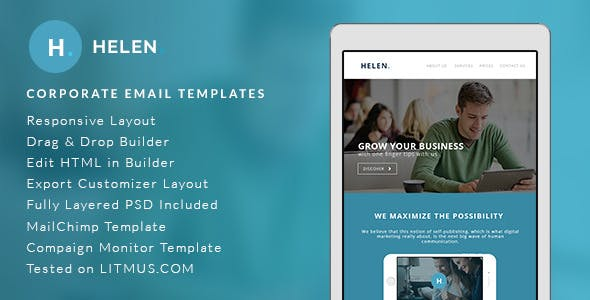 B2b Email, Newsletter and Landing Page Templates