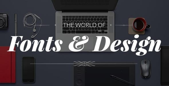 Fonto - Typography Portfolio / WooCommerce Theme - Portfolio Creative
