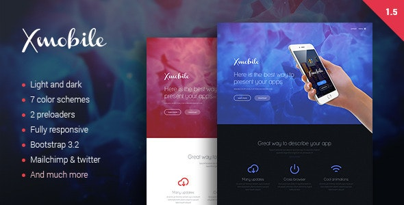 Xmobile Landing Page - Apps Technology