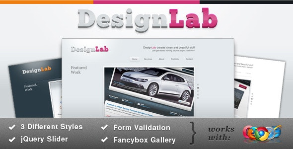 DesignStudio - Corporate Site Templates