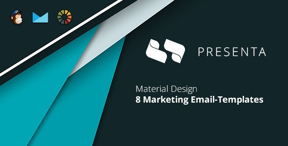 Presenta Marketing Email-Template + EmailBuilder - Newsletters Email Templates