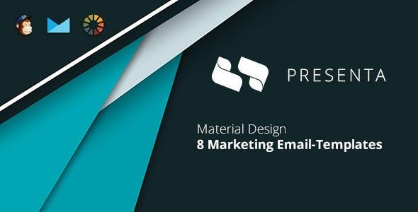 Presenta Marketing Email-Template + EmailBuilder