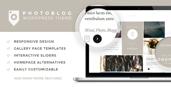 Photoblog - Photography Portfolio and Blog Theme by Tokokoo