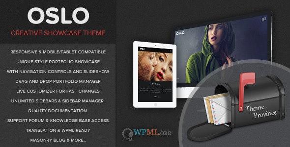 Oslo - A Showcase Portfolio WordPress Theme - Portfolio Creative