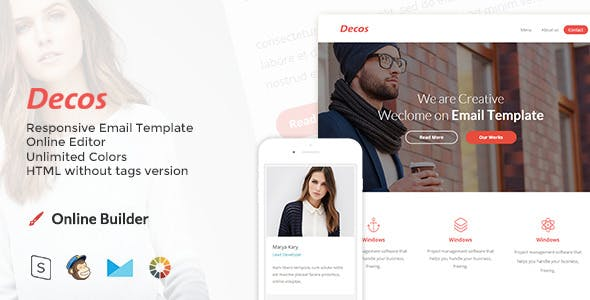 Decos - Responsive Email and Newsletter Template