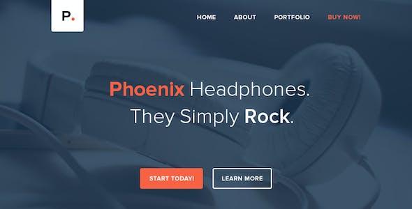 Phoenix - Responsive Email + Themebuilder Access