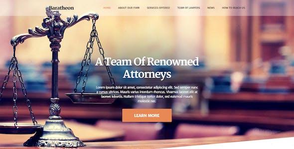 Baratheon - Law Firm WordPress Theme