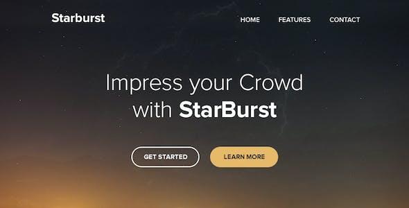 Starburst - Responsive Email + Themebuilder Access