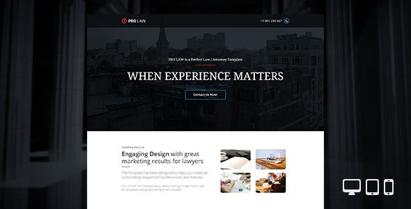 PRO Law - Adobe Muse Template - Corporate Muse Templates