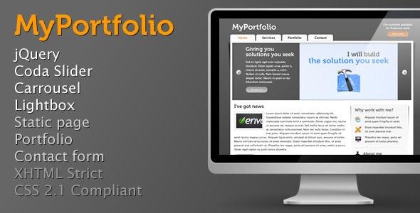 MyPortfolio - Creative Site Templates