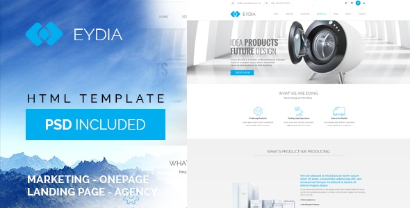 Eydia | Responsive Multi-Purpose HTML5 Template - Marketing Corporate
