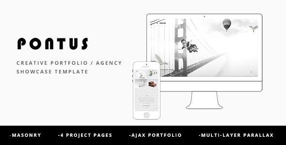 Pontus - Creative Portfolio / Agency Template - Portfolio Creative