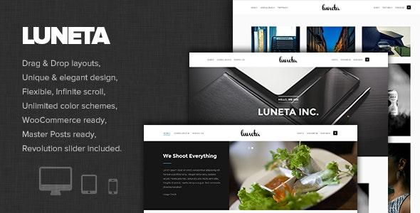 Luneta - Creative and Elegant Portfolio Theme - Photography Creative