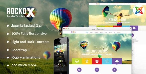 RockoX - One Page Parallax Joomla Virtuemart Template - VirtueMart Joomla