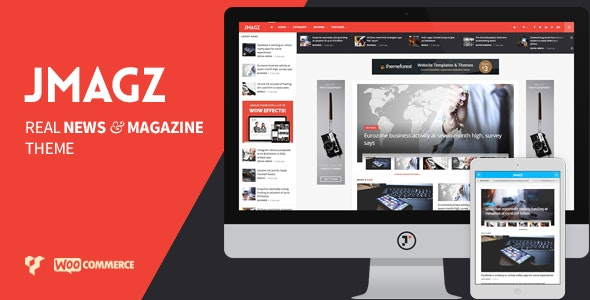 JMagz - Tech News Review Magazine WordPress Theme - News / Editorial Blog / Magazine