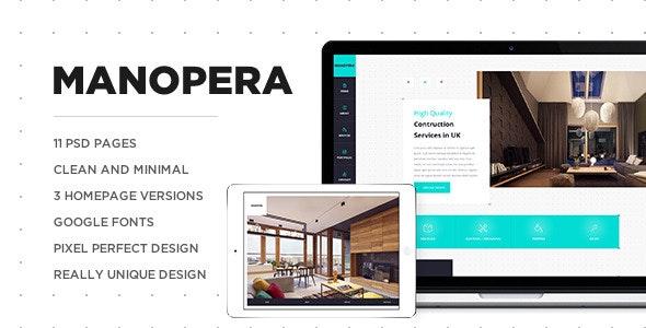 ManOpera PSD - Business Corporate