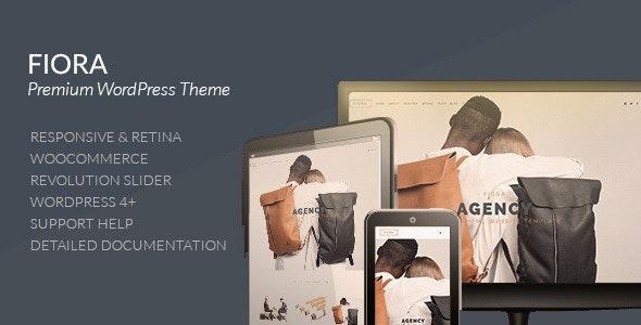 Fiora - Multi & Onepage Portfolio WordPress Theme - Portfolio Creative