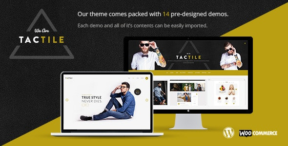 Tactile - Multipurpose Theme - Creative WordPress
