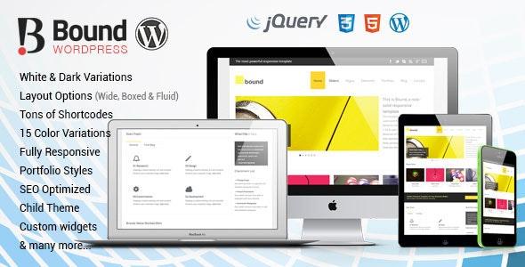 Bound - Multi-purpose Responsive WordPress Theme - Business Corporate