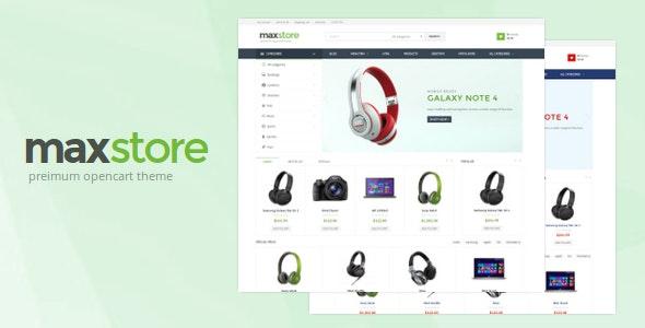 Maxstore Opencart Theme - Shopping OpenCart