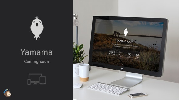 Yamama - Responsive Coming Soon Template - Under Construction Specialty Pages