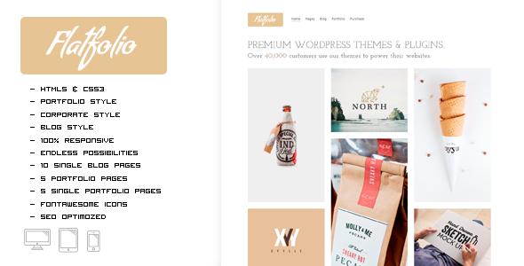 FLATFOLIO - Premium Portfolio & Agency HTML Theme - Portfolio Creative