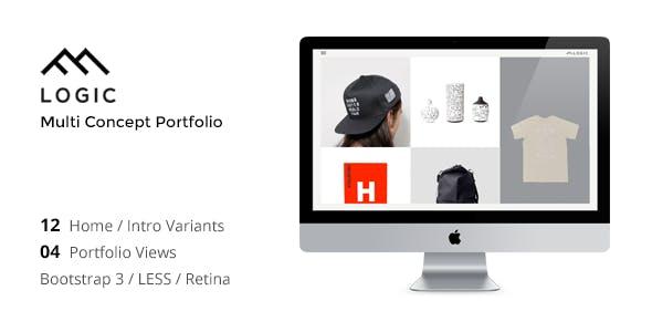 LOGIC - Minimal Multi-Concept Portfolio Template