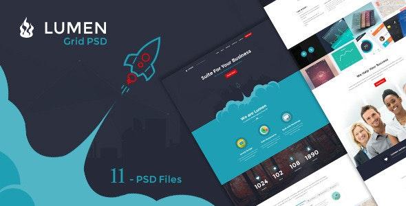 Lumen - Multi-purpose PSD Template - Business Corporate