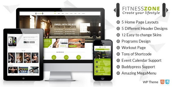 Fitness Zone | Gym Theme - Health & Beauty Retail