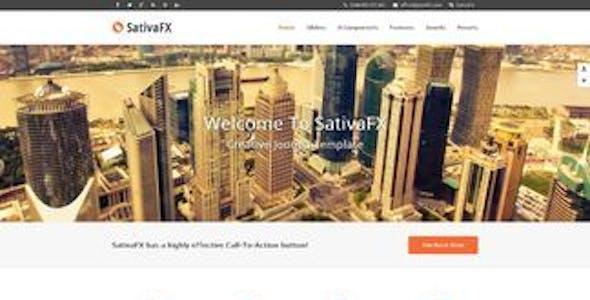 SativaFX - Creative Joomla Template