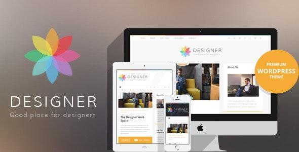 Designer - Blog Wordpress Theme - Personal Blog / Magazine
