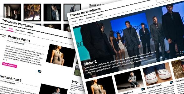 Tribeca Wordpress Theme - Creative WordPress